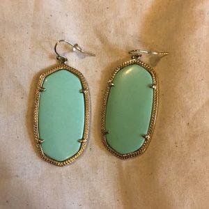 Kendra Scott Danielle Mint Green Earrings